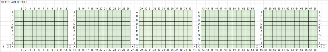 LVCC seat chart details